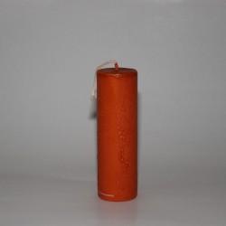 """Gitterkerze """"Orange"""" (18x5.7)"""