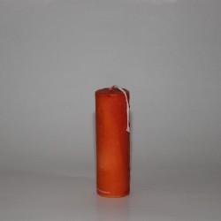 """Gitterkerze """"Orange"""" (14.5x4.8)"""